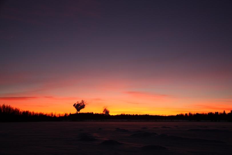 ilta aurinko nisoksenlahti 2
