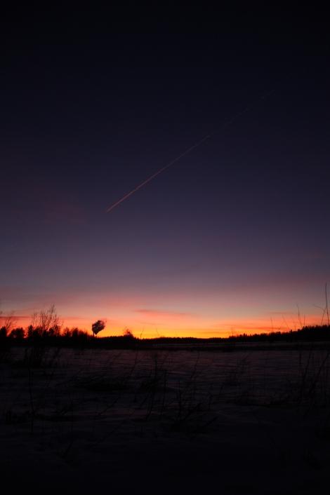 ilta aurinko nisoksenlahti