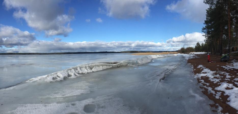 Lappalanjärvi Valkeala hiekkasärjet