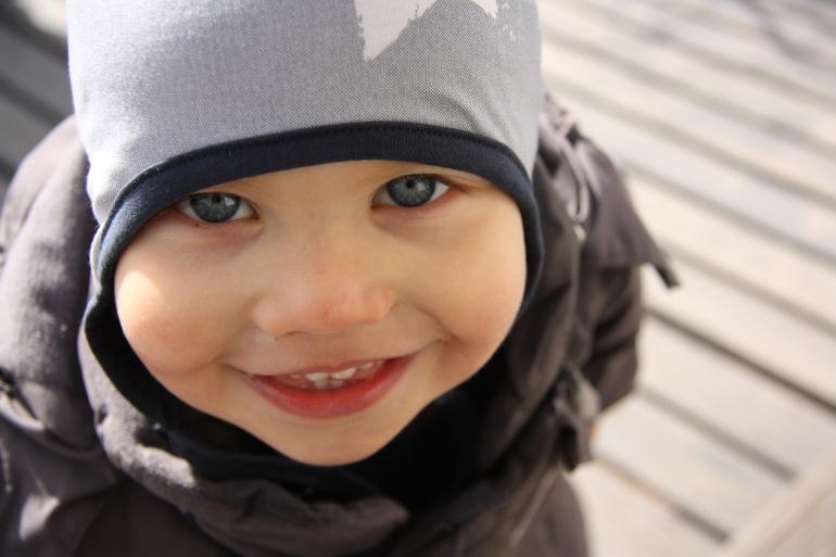 vauvan silmät