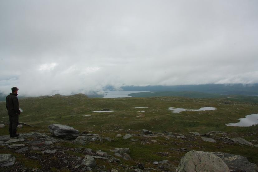 climbing a nordic fell