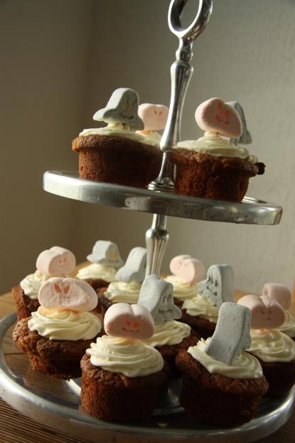 porkkanakakku cupcakes
