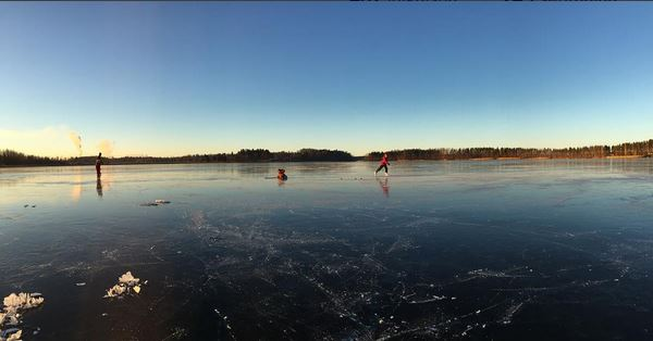 lappalanjärvi finland first ice ensijäät