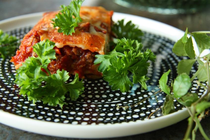 kesäkurpitsa lasagne